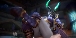Sextime with powerful females of Azeroth - with sound