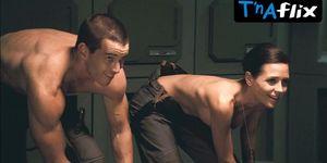 Cecile Breccia Breasts,  Butt Scene  in Starship Troopers 3
