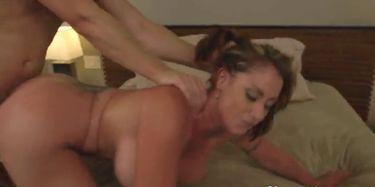 Notty mom eva Bouncing boobs,